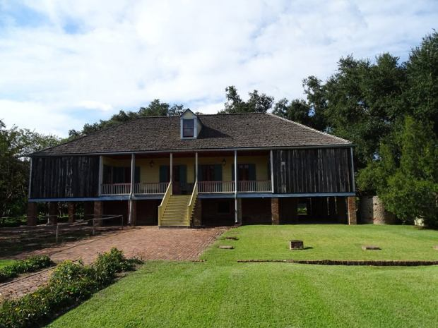 Louisiane - Laura plantation - habitation