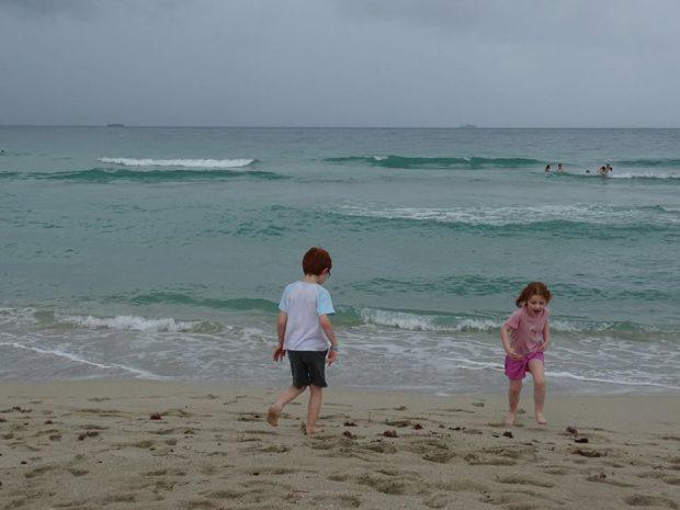 Miami Beach avec des enfants