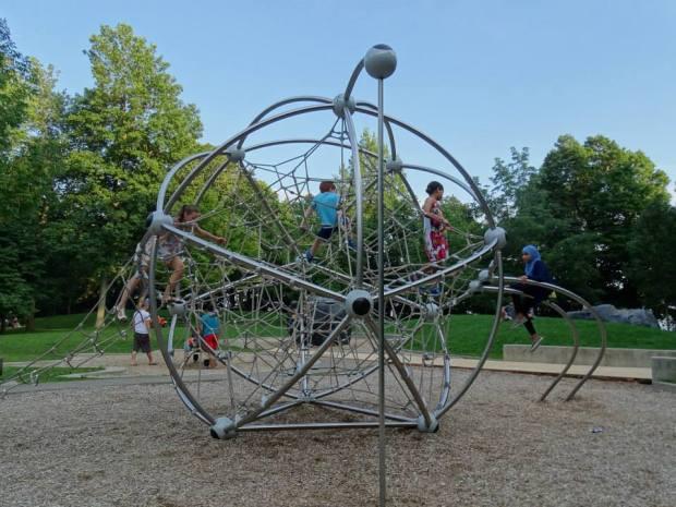 Montreal - Parc Mont-Royal avec des enfants