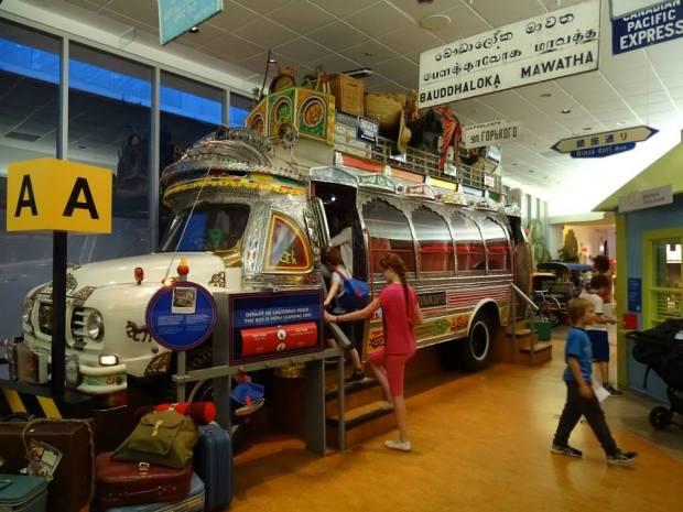 Ottawa - Musée des civilisations avec des enfants