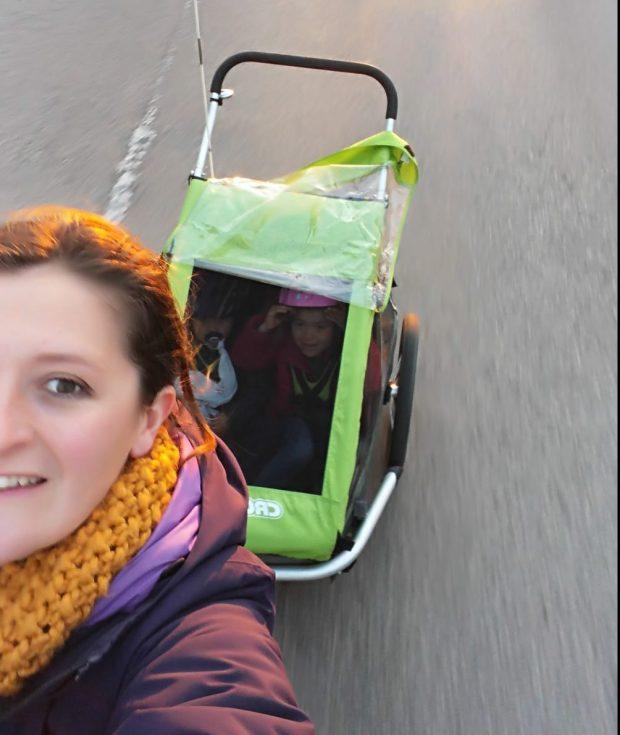 remorque vélo 2 enfants croozer kid for 2 roule