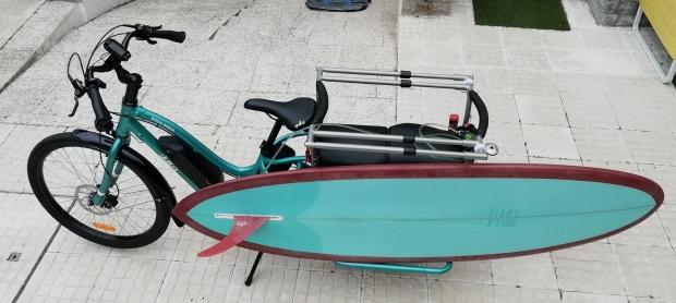 yuba boda boda velo cargo longtail electrique surf