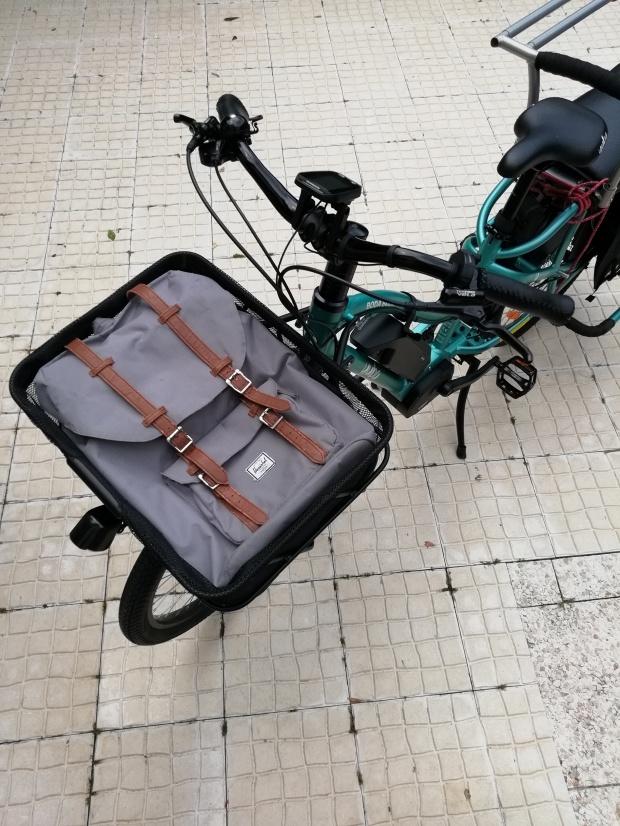velo cargo longtail yuba boda boda electrique chargement courses porte bagage