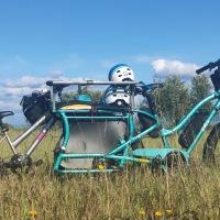 Randonnée à vélo en famille : bagages et matériel