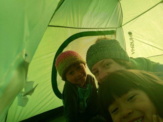 Bivouac Alentejo - voyage a velo avec des enfants Portugal nature