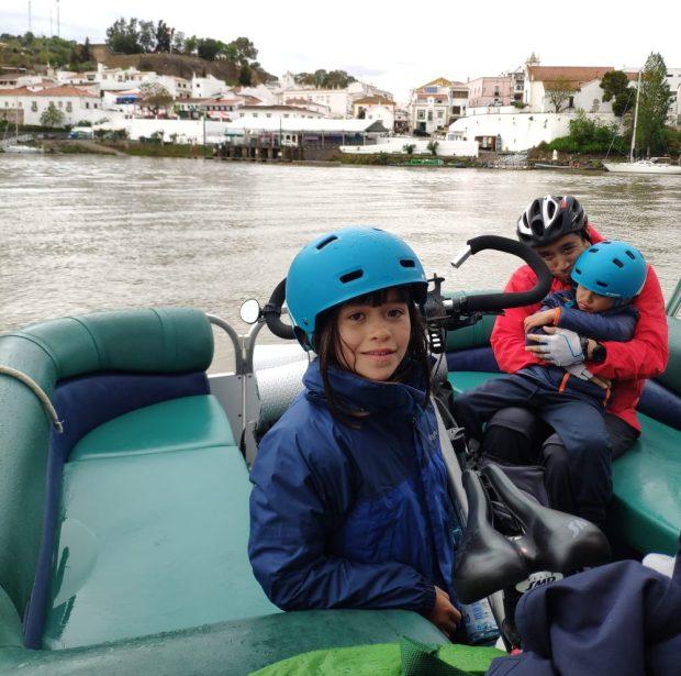 bateau/bac traversee Alcoutim Portugal - sanlucar de guadiana Espagne