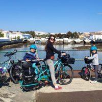 Le Portugal à vélo avec des enfants : Alentejo et Algarve par la frontière espagnole