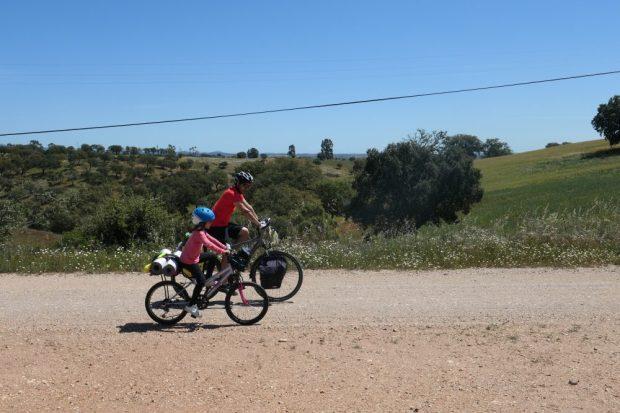 Alentejo / Vale Covo - voyage a velo avec des enfants Portugal nature