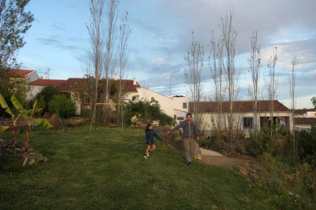 gite rural casas do Palheiro velho ferme enfants algarve interieure
