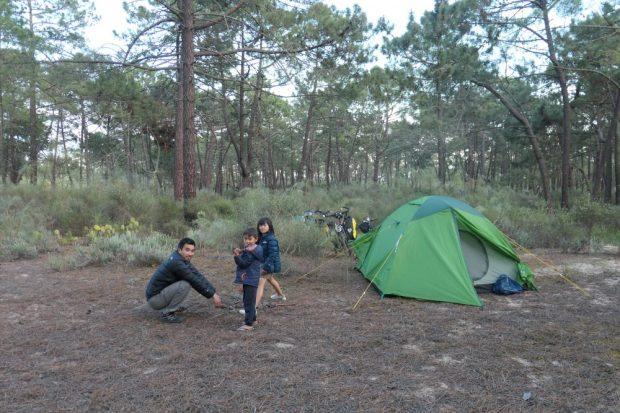 camping sauvage velo algarve